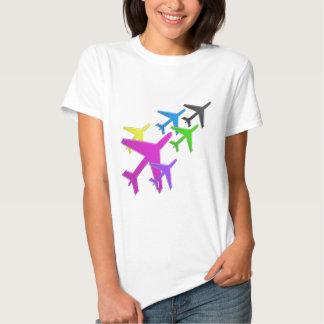 AEROPLANE cadeaux pour les enfants flotte d'avion Tee Shirts