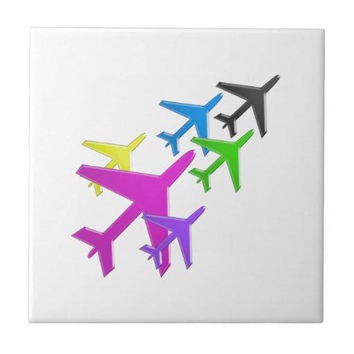 AEROPLANE cadeaux pour les enfants flotte d'avion Tiles