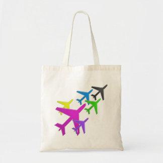 AEROPLANE cadeaux pour les enfants flotte d'avion Tote Bag