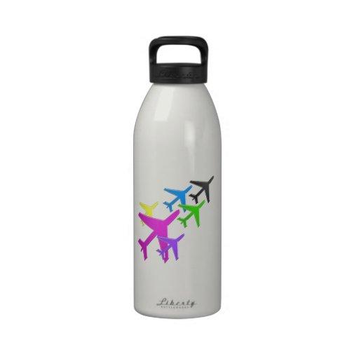 AEROPLANE cadeaux pour les enfants flotte d'avion Reusable Water Bottles