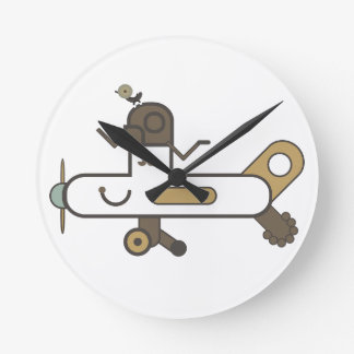 Aeroplane Clock 2