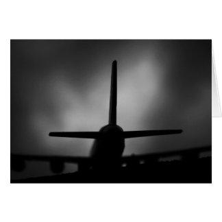 Aeroplane Greeting Card