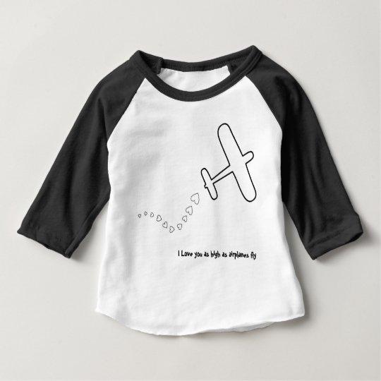 Aeroplane I Love You Baby T-Shirt