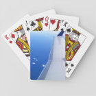 Aeroplane in Sky Photo Playing Cards