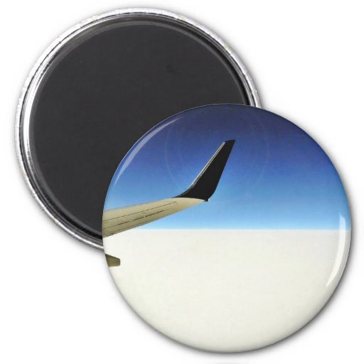 Aeroplane In The Sky Magnet