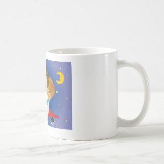 Aeroplane kids classic white coffee mug
