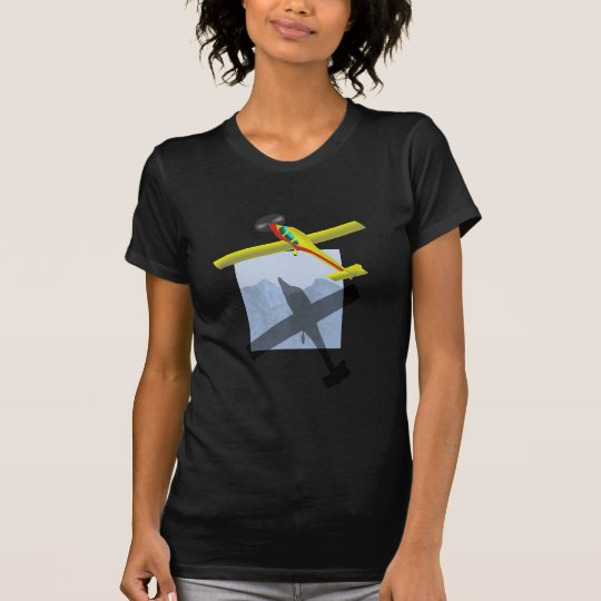 Aeroplane ladies t-shirt