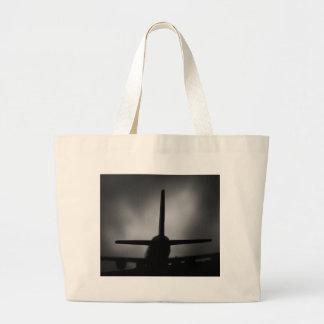 Aeroplane Large Tote Bag