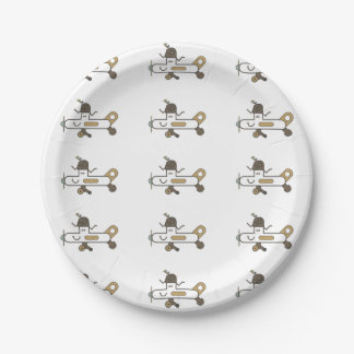 Aeroplane Paper Plate