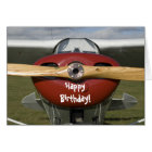Aeroplane Pilot Happy Birthday Card