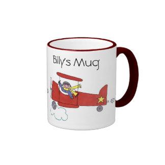 Aeroplane Pilot Mug