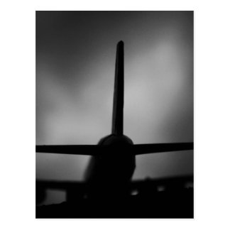 Aeroplane Postcard