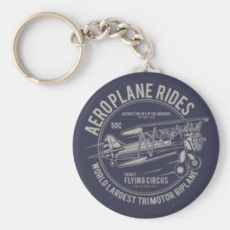 Aeroplane rides flying circus | Airplane Gifts Key Ring