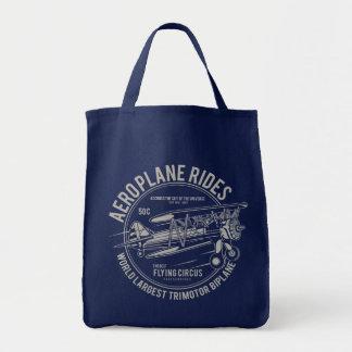 Aeroplane rides flying circus | Airplane Gifts Tote Bag