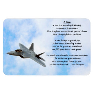Aeroplane Son Poem Magnet