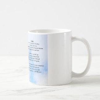 Aeroplane - Son poem - Mug