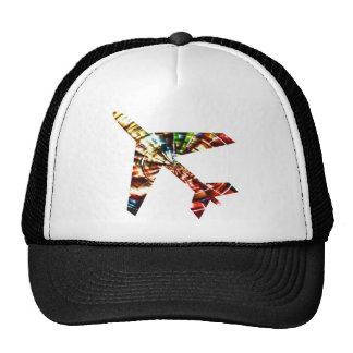 Aeroplane - Sparkling Red Cool Design Cap
