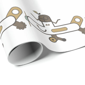 Aeroplane Wrapping Paper