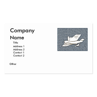 Aeroplanes Business Card Template