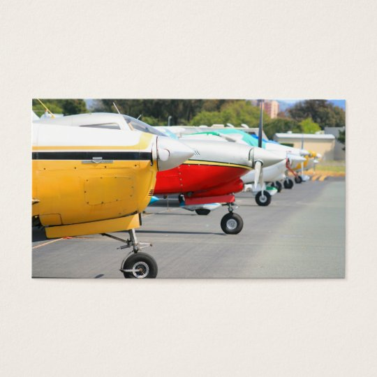 Aeroplanes business cards
