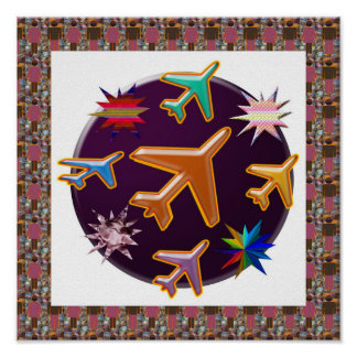 AEROPLANES n Stars : Graphic Design Print