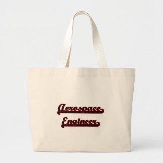 Aerospace Engineer Classic Job Design Jumbo Tote Bag
