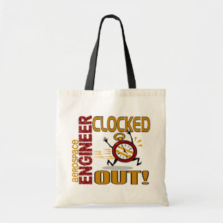 Aerospace Engineer Clocked Out Bag