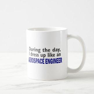 AEROSPACE ENGINEER During The Day Basic White Mug