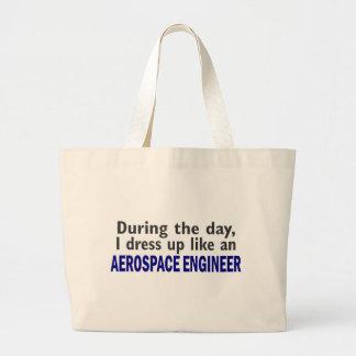AEROSPACE ENGINEER During The Day Jumbo Tote Bag