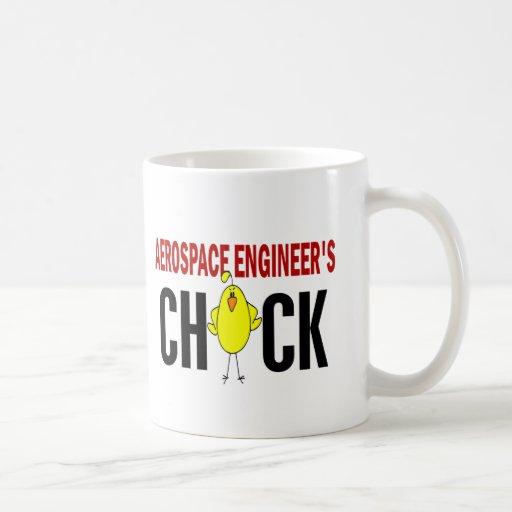 Aerospace Engineer's Chick Mugs