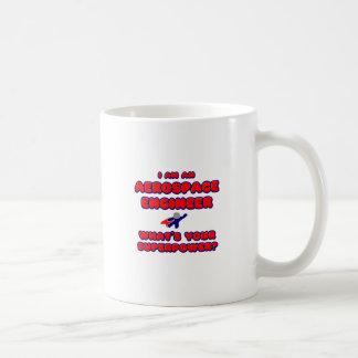 Aerospace Engineer .. What's Your Superpower? Basic White Mug