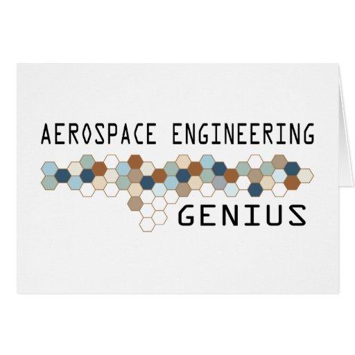 Aerospace Engineering Genius Cards