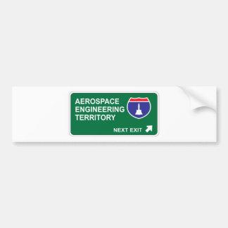 Aerospace Engineering Next Exit Bumper Stickers