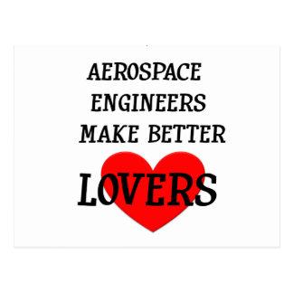 Aerospace Engineers Make Better Lovers Postcard