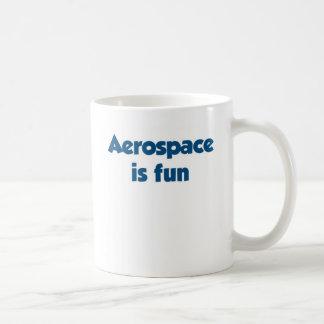 Aerospace is fun coffee mug