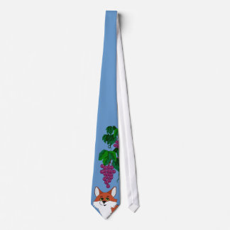 Aesop Fox & Grapes Necktie