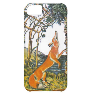 Aesop s fables the fox and the grapes iPhone 5C cover