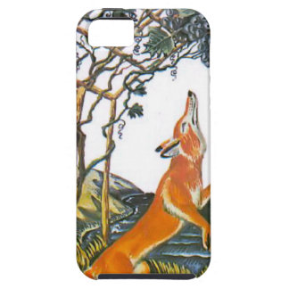 Aesop s fables the fox and the grapes iPhone 5 cases