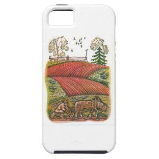 Aesop s fables the ploughman and the fields iPhone 5 case