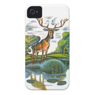 Aesop's fables, the deer and his reflection iPhone 4 case