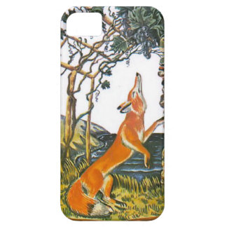 Aesop's fables, the fox and the grapes iPhone 5 case