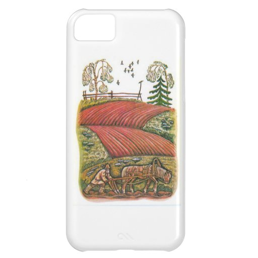 Aesop's fables, the ploughman and the fields case for iPhone 5C