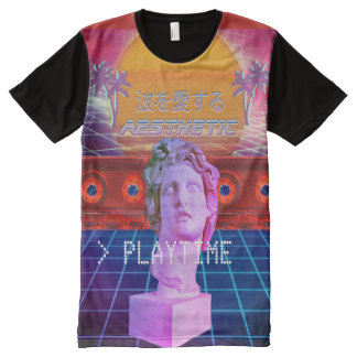 Aesthetic Playtime All-Over Print T-Shirt