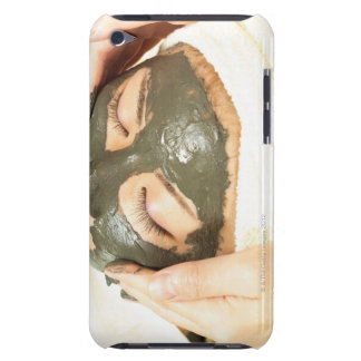 Aesthetician Who Rubs Mud Pack on Womans Face, Barely There iPod Cases
