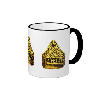 Aethelwulf's Gold Ring Ringer Coffee Mug
