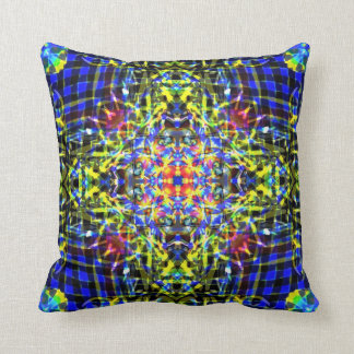 Aether spirit mandala throw pillow