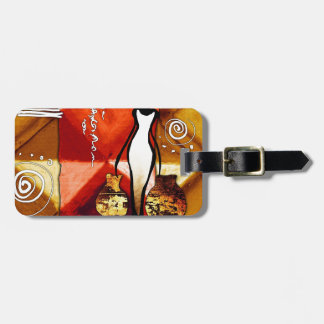 af070 Africa retro vintage style gifts Luggage Tag