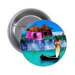 af076 Africa retro vintage style gifts Pinback Buttons