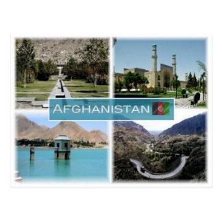 AF Afghanistan - Postcard