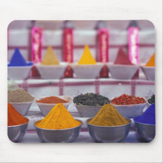 AF, Egypt, Aswan, Colorful spices in market. Mouse Pad
